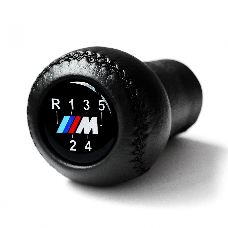 BMW Leather M Sport 5 Speed Gear Shift Knob