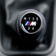 BMW Leather M Sport Tri Color ///M stitched Gear Shift Knob Stick 5 Speed Manual Transmission Shifter Lever