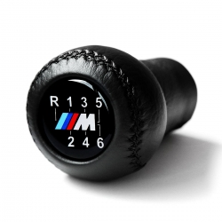 BMW Leather M Sport 6 Speed Gear Shift Knob