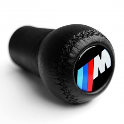 BMW Leather Motorsport Gear Shift Knob Stick 5/6 Speed Manual Transmission Shifter Lever