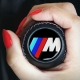 BMW Leather Motorsport 3 Color Stitches Gear Shift Knob