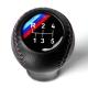 BMW Leather M3 E30 EVO3 5 Speed M Technic DogLeg Tri Color ///M stitched Gear Shift Knob Stick Manual Transmission Shifter Lever