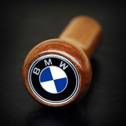 BMW Wooden Classic Gear Shift Knob Stick 5/6 Speed Manual Transmission Shifter Lever
