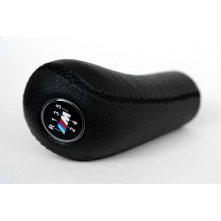 BMW M Sport Leather Gear Shift Knob Stick 5 Speed Manual Transmission Shifter Lever
