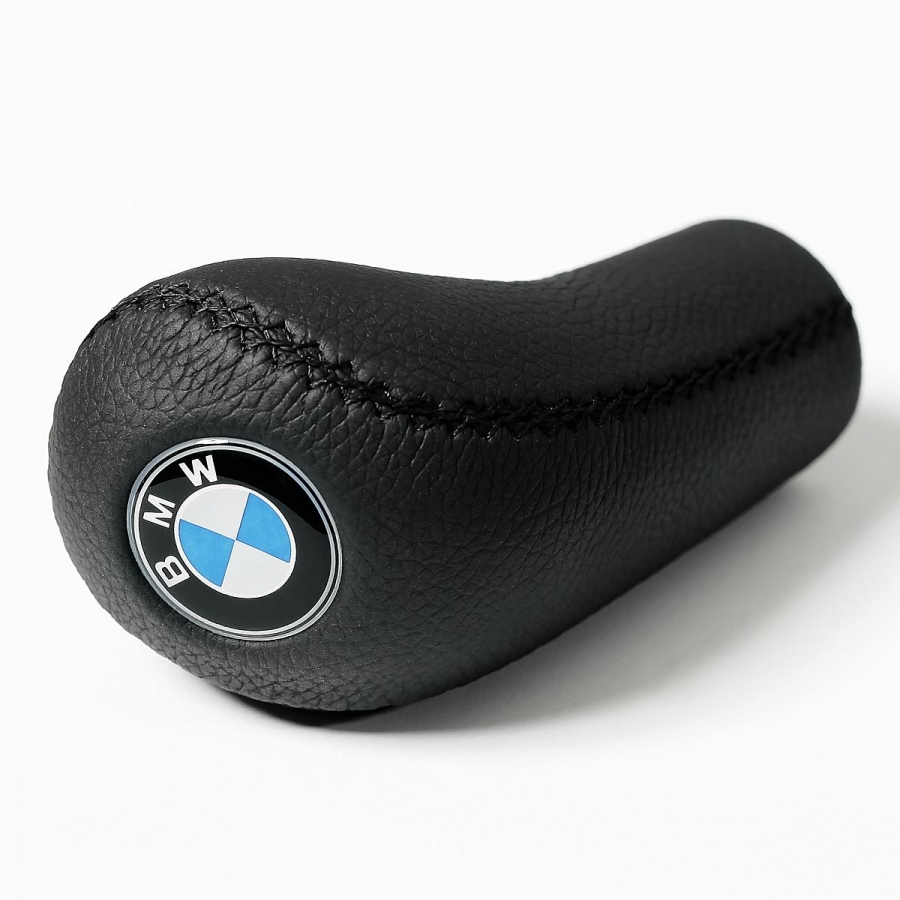 BMW Leather Classic Gear Stick Shift Knob
