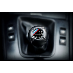 BMW Leather M Technic Classic Gear Shift Knob Stick 5 Speed Manual Transmission Shifter Lever