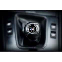 BMW M Sport Leather Gear Shift Knob Stick 6 Speed Manual Transmission Shifter Lever