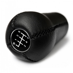 BMW Leather Classic 6 Speed Gear Shift Knob