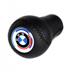 BMW Leather Early M Technic Gear Shift Knob Stick Screw-On Type E10 E12 E9 E3 2002 1802 Manual Transmission Shifter Lever