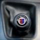 BMW Leather Alpina Gear Shift Knob Stick Screw-On Type E10 E12 E9 E3 2002 1802 Manual Transmission Shifter Lever