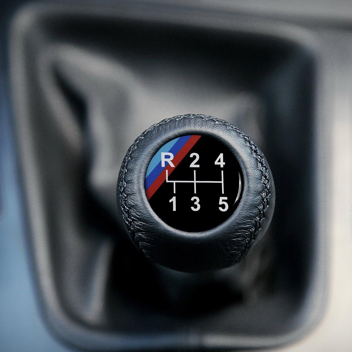 Bmw 3 0 Cs: BMW Leather M Technic Dog Leg Gear Shift Knob Stick Screw