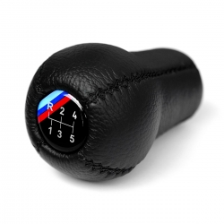BMW Leather M Technic Dog Leg Gear Shift Knob Stick Screw-On Type E10 E12 E9 E3 2002 1802 Manual Transmission Shifter Lever