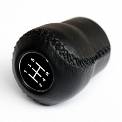 Opel Leather Gear Shift Knob Stick 5 Speed Manual Transmission Shifter Lever