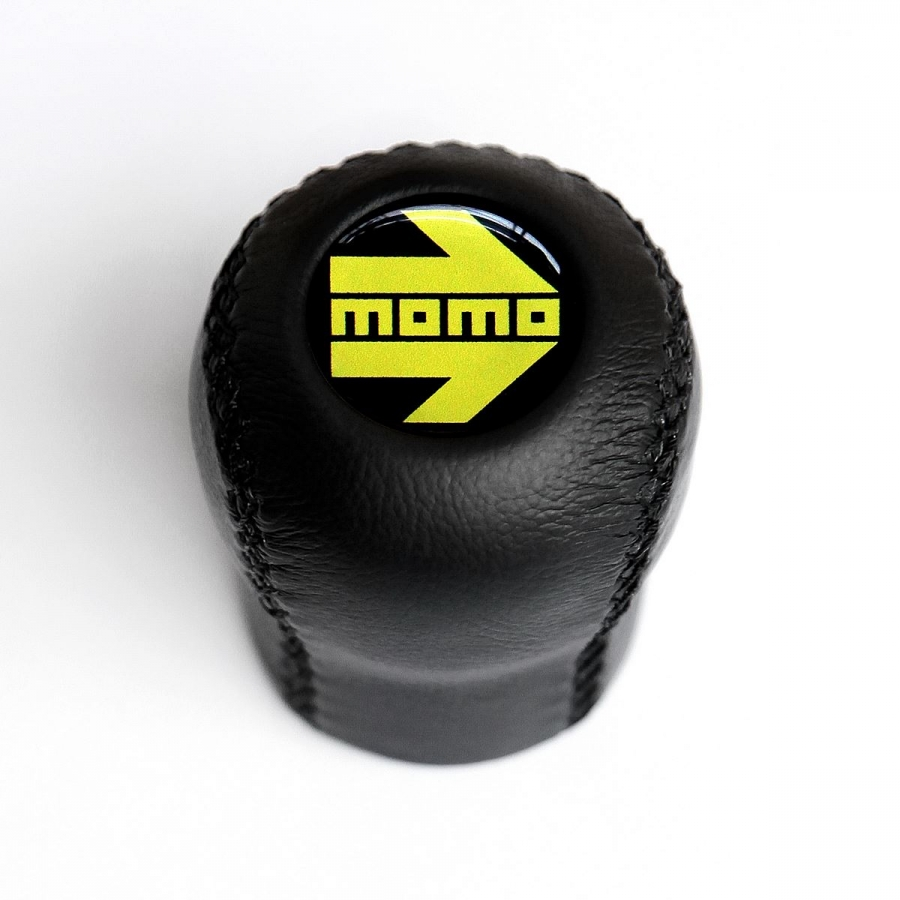 Opel Momo Leather Gear Shift Knob Stick 5/6 Speed Manual Transmission Shifter Lever