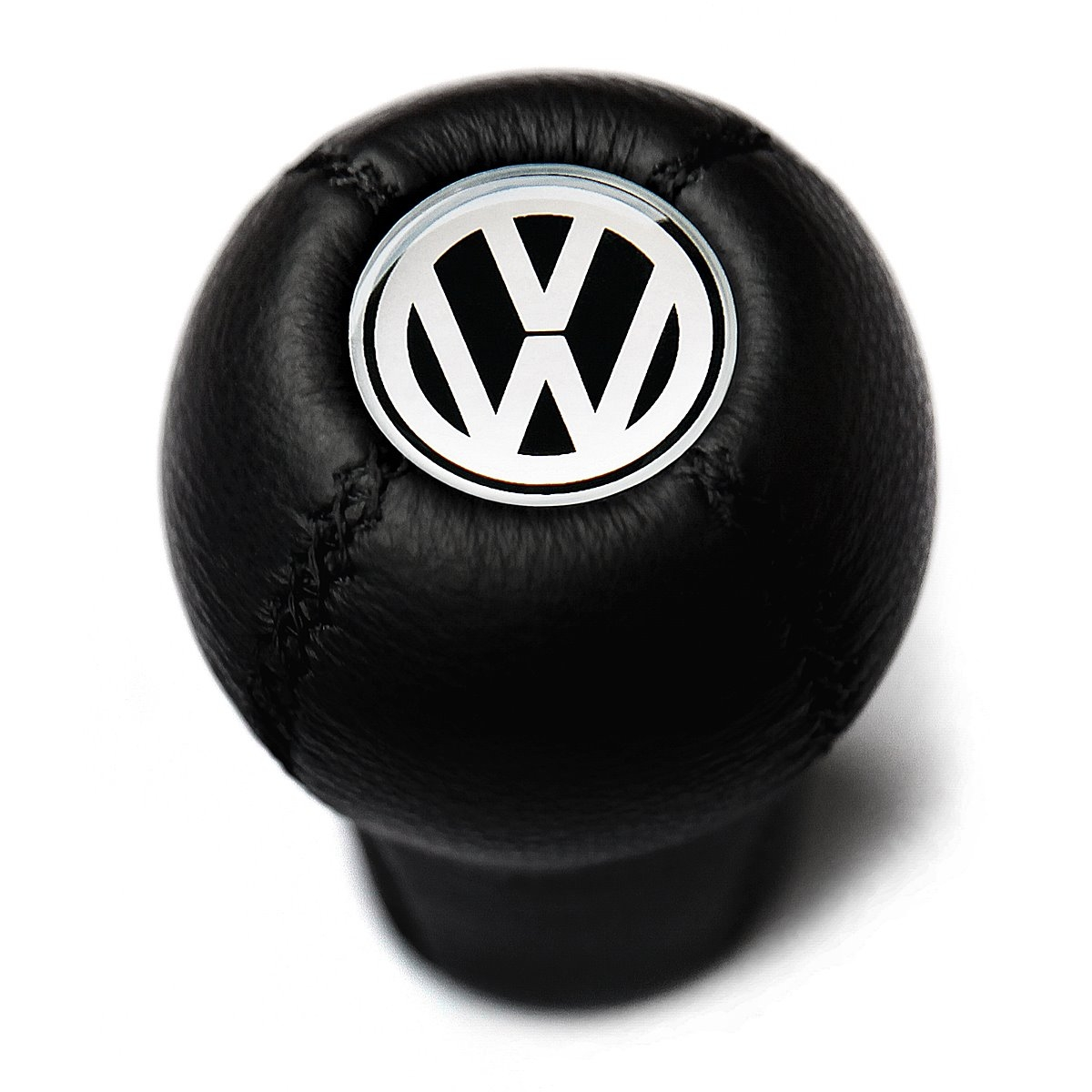 volkswagen leather screw  type gear shift knob stick manual transmission shifter lever mx