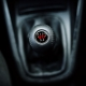 Volkswagen Gti Leather Screw-On Type Gear Shift Knob Stick 5 Speed Manual Transmission Shifter Lever
