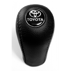 Toyota Leather Screw-On Type Gear Shift Knob Stick 5 Speed Manual Transmission Shifter Lever