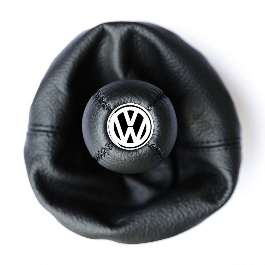 Volkswagen Golf lV Leather Gear Shift Knob Stick 5/6 Speed Manual Transmission Shifter Lever & Gaiter Boot