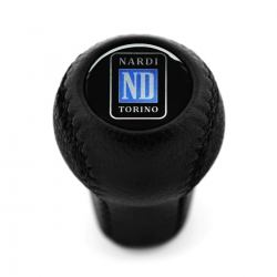 Mazda Nardi Torino Leather Screw-On Type Gear Shift Knob Stick 5 6 Speed Manual Transmission Shifter Lever M10x1.25